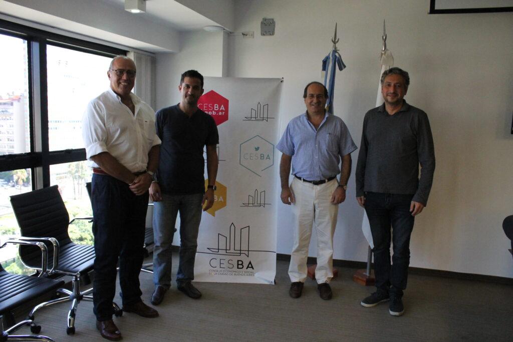 Firma de convenio de colaboración entre UBATEC SA y el Consejo Económico Social de la Ciudad de Buenos Aires.