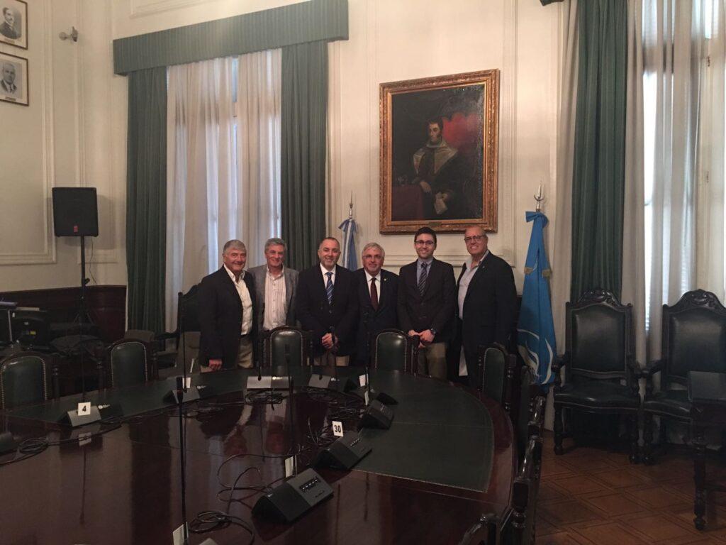 Delegación de Universidad Rey Juan Carlos visitó UBA
