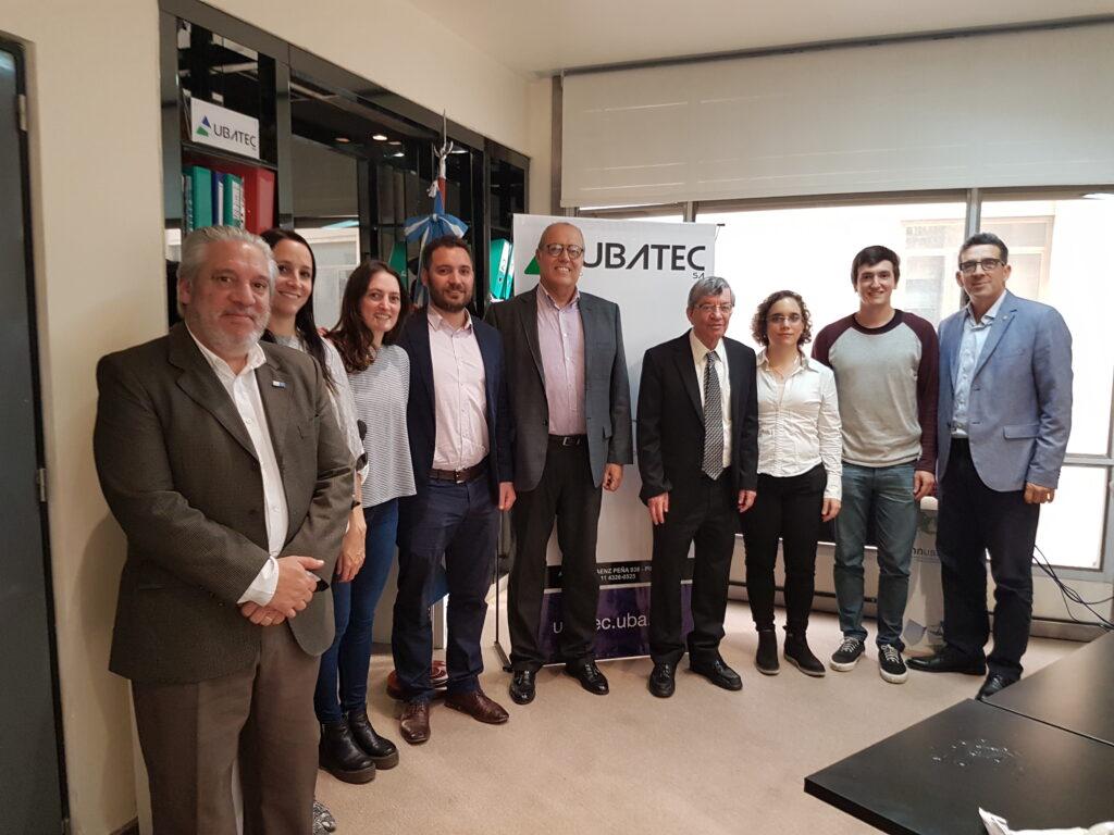 Visita del Vicepresidente del Depto. de Transferencia de Tecnología del Instituto de Ciencias Weizmann de Israel