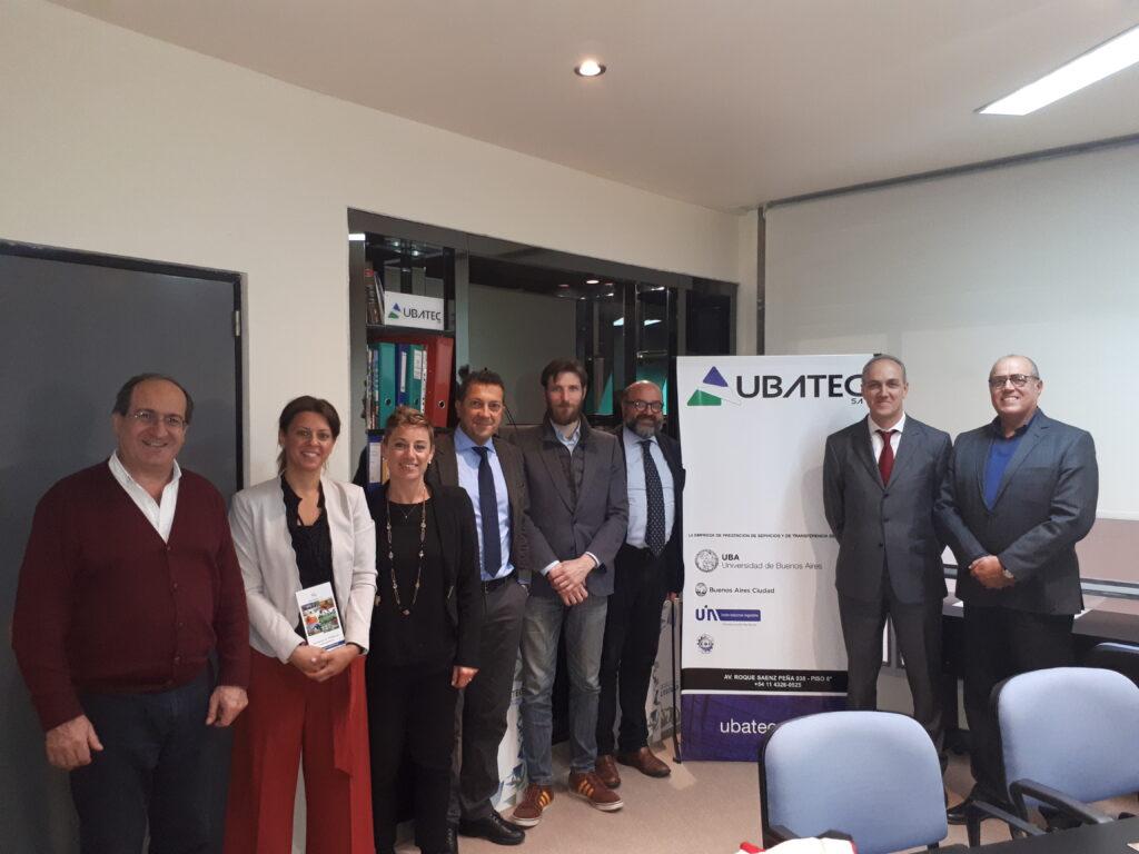 Delegación de Umbria Export y3A-PTA visitan UBATEC