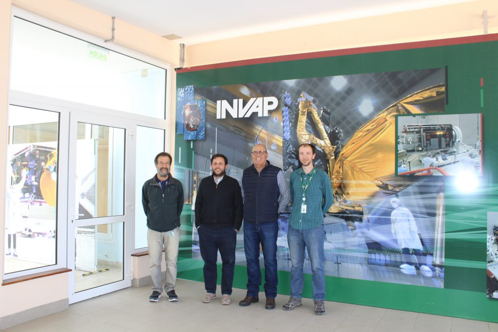Ubatec visits the facilities of INVAP