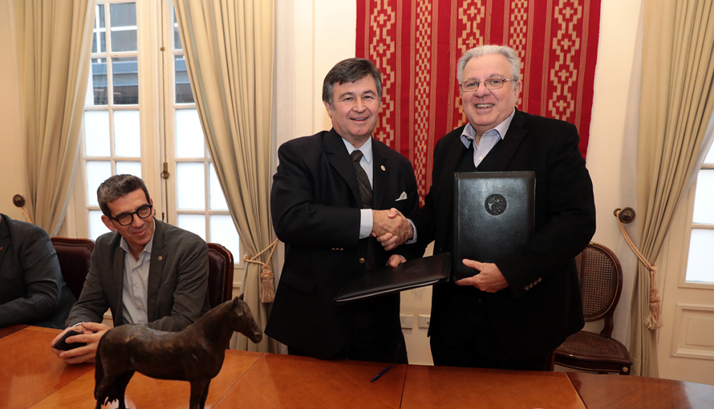 R&D Agreement between UBA and Sociedad Rural Argentina