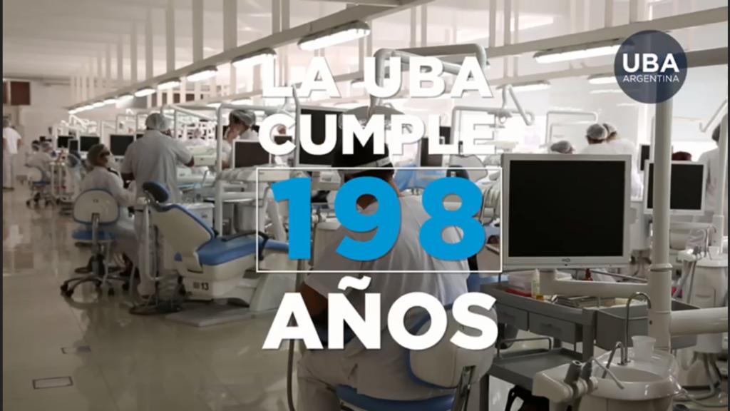¡La UBA cumple 198 años!