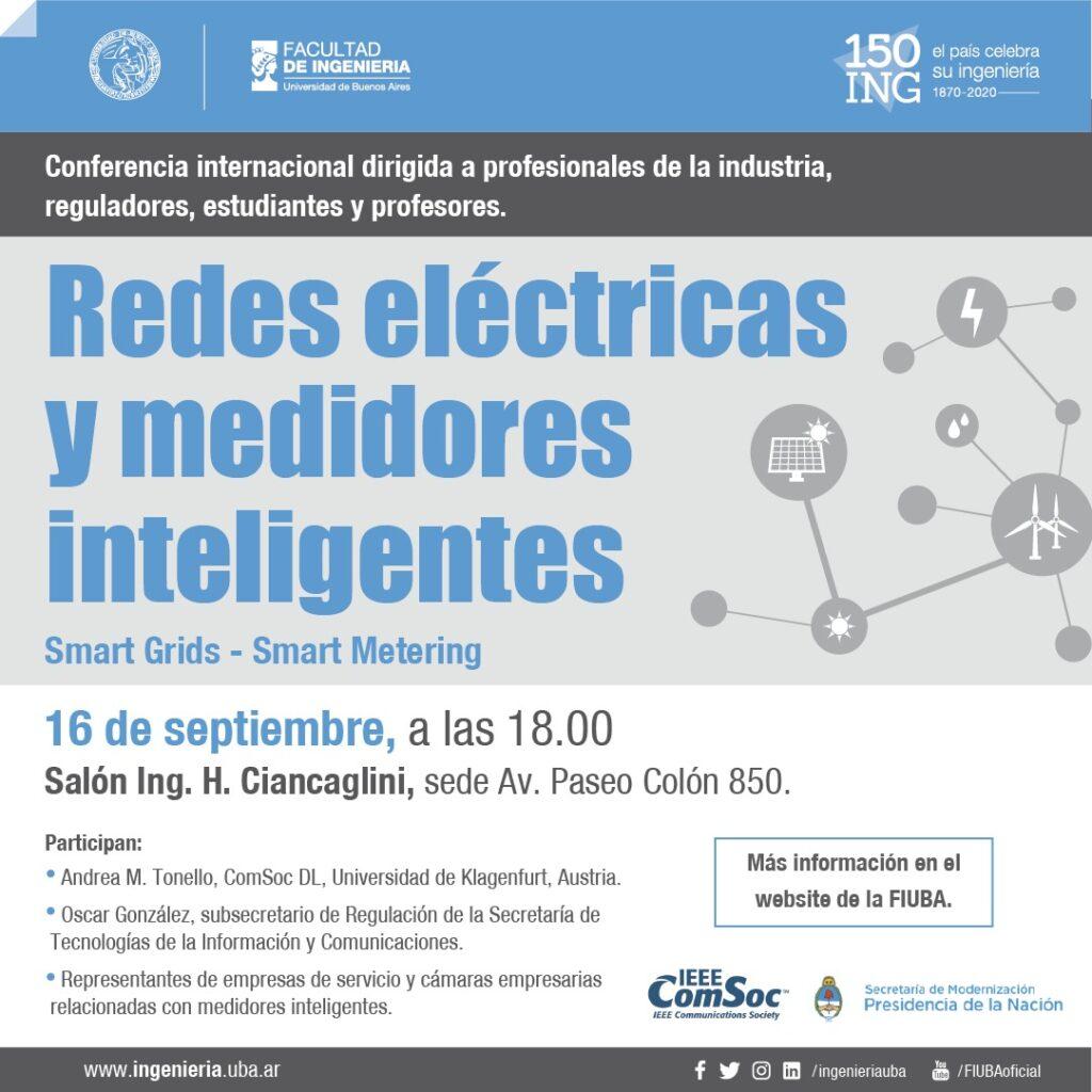 Redes Eléctricas y medidores inteligentes