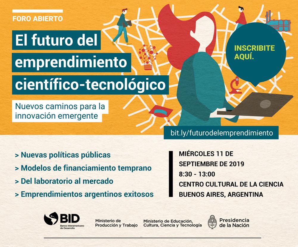 foro BID emprendimiento cientifico tecnologico