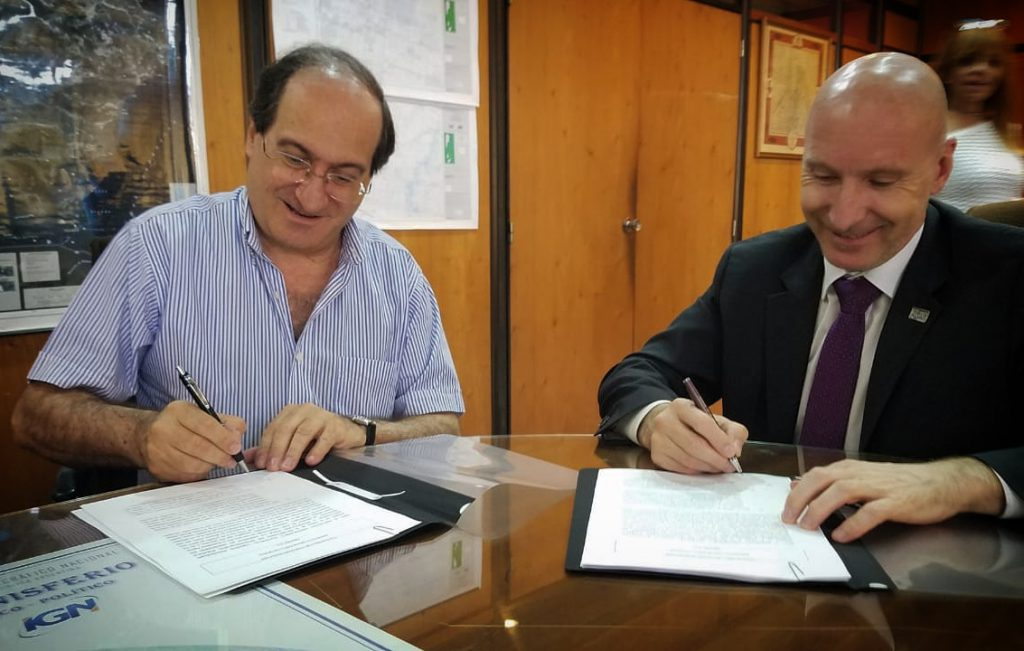 AGREEMENT WITH NATIONAL GEOGRAPHICAL INSTITUTE