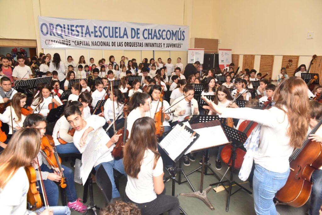 Nuestra apadrinada, la Orquesta-Escuela de Chascomus tuvo un merecido reconocimiento ¡Felicitaciones!